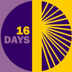 16 Days Logo (English)